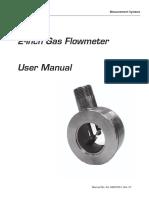 Nuflo Gas Flowmeter Manual