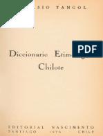 Diccionario Etimológico Chilote_Nicasio Tangol