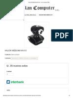 Halion Webcam Ha-013 - Clan Computer Eirl