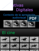 Narrativas Digitales - Contexto de La Apreciación Audiovisual