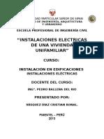 Proyecto Instalaciones electricas
