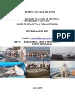 Imarpe 17) Informe Anual Estadistica2007web
