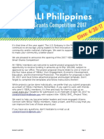 Proposal Template_YSEALI Philippines Small Grants Competition 2017