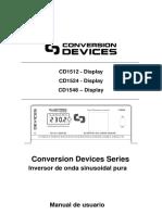 Conversion Devices Cd1500 Series Manual Usuario Es