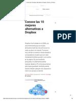 Conoce Las 10 Mejores Alternativas a Dropbox _ Diario La Primera