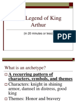 Arthurian Legend Power Point