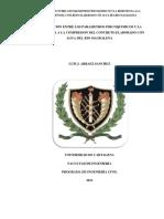 Correlacion Entre Los Parametros Fisicoquimicos y La Resistencia a La Compresion Del Concreto Ela