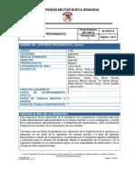 Contenido programatico Química Gral Ingeniería_2015-II