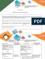 Guía de Actividades y Rúbrica de Evaluación - Paso 2 - Pre Tarea