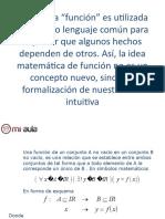 Apunte 1 Definicion Funcion Dominio Recorrido Primero Medio