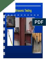 Introduction Ultrasonic Testing
