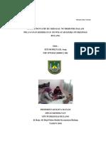 Halaman Cover Dan Daftar Isi Makalah Nakes Teladan Anggreany Gusniyatie, Amd. Farm