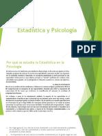 Estadística y Psicología