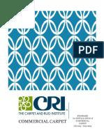 CRI Commercial Carpet Installation Instructions