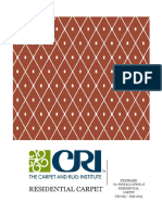 CRI Residential Carpet Installation Instructions