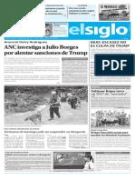 Edicion Impresa El Siglo 29-08-2017
