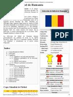 Selección de Fútbol de Rumania - Wikipedia, La Enciclopedia Libre