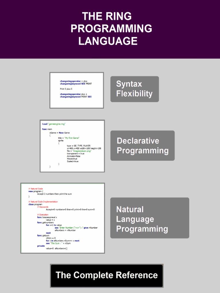 The Ring programming language version 1 4 1 book - Part 1 of 31