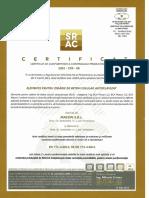 Certificat SRAC Nr. 08 BCA Deva 01.06