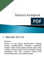 Sintesis Komposit