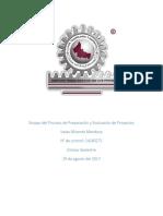Ensayo Del Proceso de Preparación y Evaluación de Proyectos