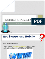 WebSite and Web Browser