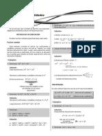 09 Ejercicios de Factorización de Polinomios