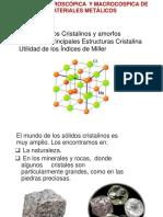 Clase 2 estructuras cristalinas