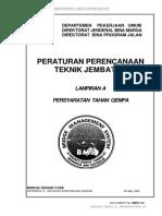 Peraturan Dan Pedoman Teknis Pekerjaan Jembatan Dan Jalan