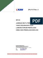 DPLP 07 Jaminan Mutu peralatan yang digunakan lab uji biologi dan kimia.pdf