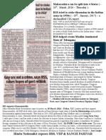 Exposing RSS - As ( Anti Hindu ) Hindutva Organizations