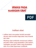 Informasi Pd Kemasan Obat