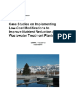 Case Studies on Implementing Low-cost Modification to Improve Potw Nutrient Reduction-combined 508 - August