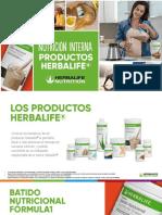 Productos de Nutricion Interna