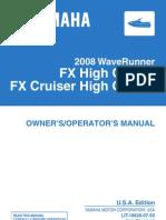 Yamaha FX HO Service Manual | Screw | Piston