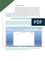 Cara Membuat Daftar Isi Otomatis di Word.docx