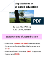 Outcome Based Education-By Engr. Majid Ali