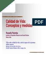 Presentación. B. Calidad de Vida, Conceptos y Medidas. Rossella Palomba.pdf