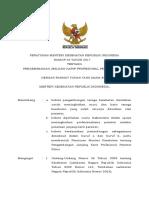PMK No. 40 Th. 2017 Ttg Pengembangan Jenjang Karir Profesional Perawat Klinis