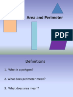 Area Perimeter Review