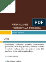 Upravljanje troškovima projekta.pptx