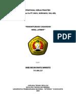 PROPOSAL KP. INCO - Penghitungan Cadangan Nikel Laterit