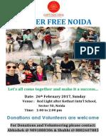 26 Feb - Hunger Free Noida