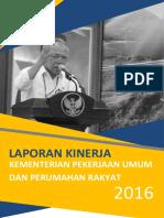 Laporan Kinerja PUPR 2016