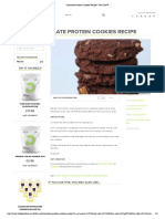Chocolate Protein Cookies Recipe _ The Core™