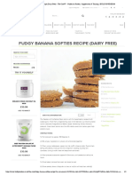 Fudgy Banana Softies Recipe (Dairy Free) - The Core™ - Guides on Protein, Supplements & Training _ BULK POWDERS®