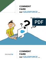 Comment Faire Sur Salesforce