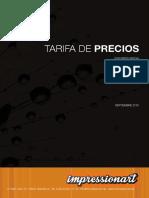 Tarifa Impressionart Sp2016opt