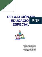 Relajacionn Educacion Especial