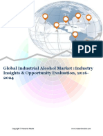 Global Industrial Alcohol Market (2016-2024)- Research Nester